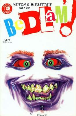 Bedlam! (Comic Book) #2