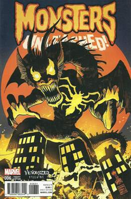 Monsters Unleashed (2017- Variant Cover) (Comic Book) #6