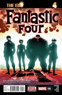 Fantastic Four Vol. 5 (Comic Book) #645