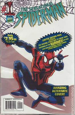 The Sensational Spider-Man (1996-1998 Variant Cover) (Comic Book) #1.1