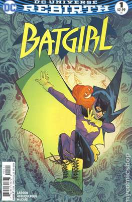 Batgirl Vol. 5 (2016- Variant Cover)