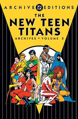 DC Archive Editions. The New Teen Titans #2