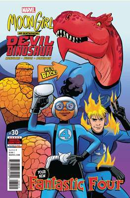 Moon Girl and Devil Dinosaur (Comic-book) #30