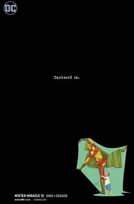 Mister Miracle (Vol. 4 2017- Variant Covers) (Comic Book) #12.1