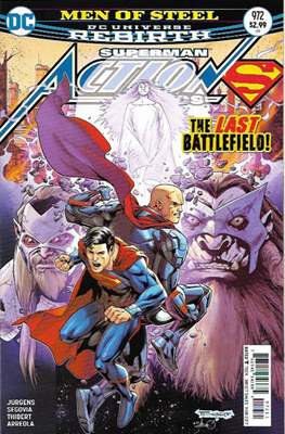 Action Comics Vol. 1 (1938-2011; 2016-) (Comic Book) #972