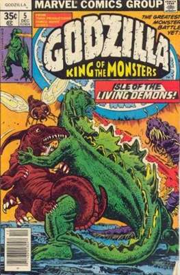 Godzilla King of the Monsters #5
