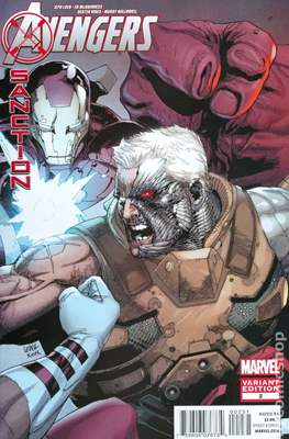 Avengers: X-Sanction (Variant Covers) (Comic Book) #2.1