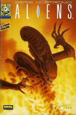 Aliens. Serie Nostromo (Grapa 36 pp) #10