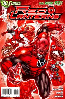 Red Lanterns (2011 - 2015) New 52 #1