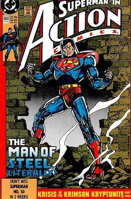 Action Comics Vol. 1 (1938-2011; 2016-) (Comic Book) #659
