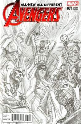 All-New All-Different Avengers (2016 Variant Covers) #1.1