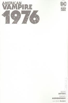 American Vampire 1976 (Variant Cover) #1.1