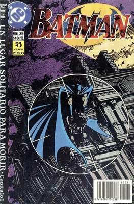 Batman (1987-1993) (Grapa) #39