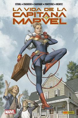 La vida de la Capitana Marvel. 100% Marvel HC (Cartoné 144 pp) #