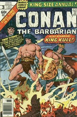 Conan The Barbarian Annuals (1973-1987) (Grapa, 48 págs.) #3