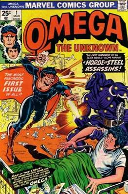 Omega The Unknown (Comic Book. 1976 - 1977) #1