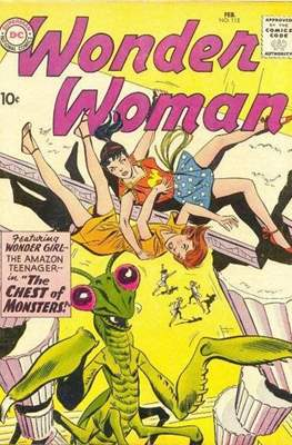 Wonder Woman Vol.1 (1942-1986; 2020-) (Comic Book) #112