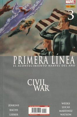 Civil War: Primera Línea (2007) (Rústica) #3