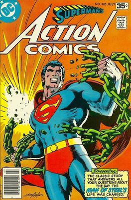 Action Comics Vol. 1 (1938-2011; 2016-) (Comic Book) #485