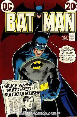 Batman Vol. 1 (1940-2011) (Comic Book) #245