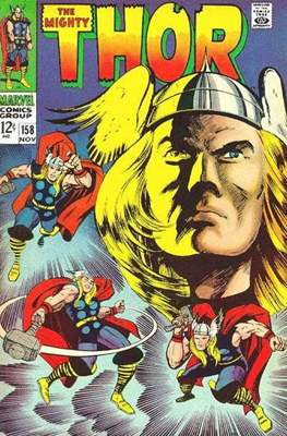 Journey into Mystery / Thor Vol 1 (Comic Book) #158