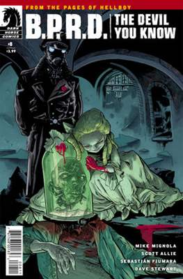 B.P.R.D. (Comic Book) #155
