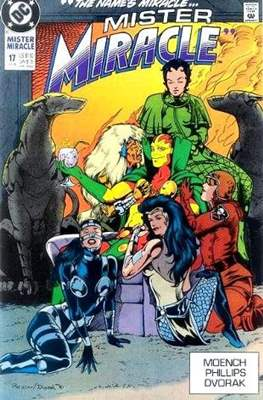 Mister Miracle (Vol. 2 1989-1991) (Comic Book) #17