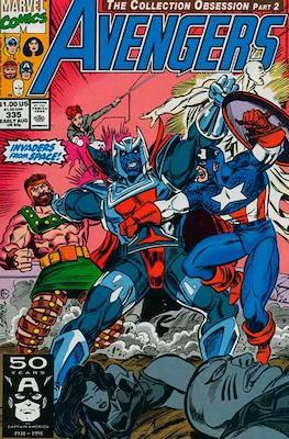 The Avengers Vol. 1 (1963-1996) (Grapa) #335
