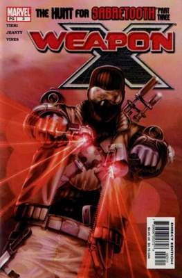 Weapon X Vol. 2 (2002-2004) (Comic Book) #3