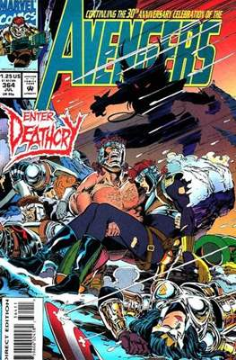 The Avengers Vol. 1 (1963-1996) (Grapa) #364