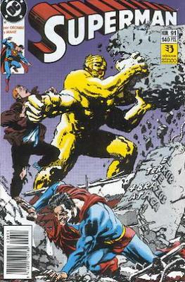 Superman: El Hombre de Acero / Superman Vol. 2 (Grapa 36 pp) #91