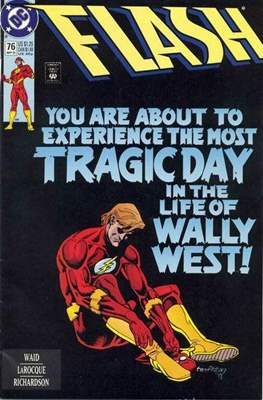The Flash Vol. 2 (1987-2006) (Comic Book) #76