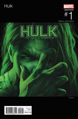Hulk Vol. 4 (2016-2017 Variant Covers) #1.9