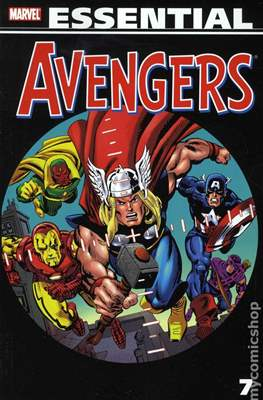 The Essential Avengers (Softcover 1st Edition) #7