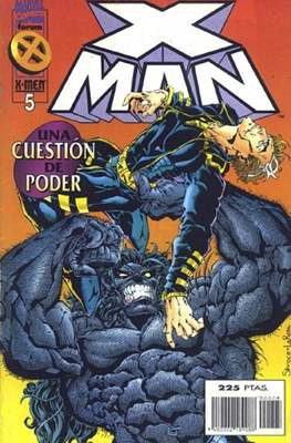X-Man vol. 2 (1996-2000) (Grapa. 17x26. 24 páginas. Color.) #5