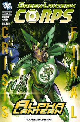 Crisis Final. Green Lantern Corps: Alpha Lantern