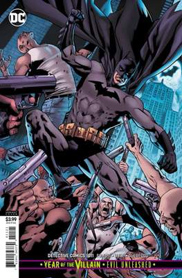 Detective Comics Vol. 1 (1937-2011; 2016- ... Variant Cover) (Cómic Book) #1011