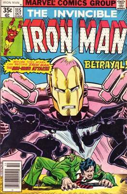 Iron Man Vol. 1 (1968-1996) (Comic book) #115