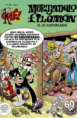 Mortadelo y Filemón. OLÉ! (1993 - ) (Rústica, portadas en relieve) #209