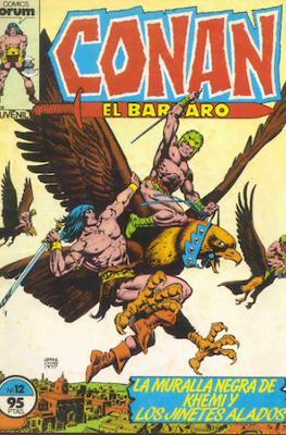 Conan el Bárbaro (1983-1994) (Grapa. 19x27. 36/32/24 páginas. Color.) #12