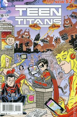 Teen Titans Vol. 4 (2011-2014 Variant Cover) #19