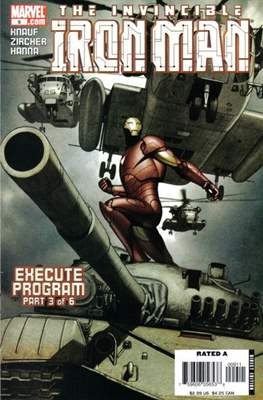 Iron Man Vol. 4 (2005-2009) (Comic Book) #9