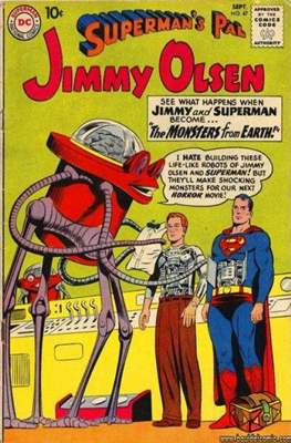 Superman's Pal, Jimmy Olsen / The Superman Family (Comic Book) #47
