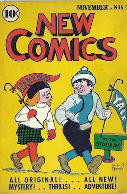 New Comics / New Adventure Comics / Adventure Comics (1935-1983 ; 2009-2011) #10