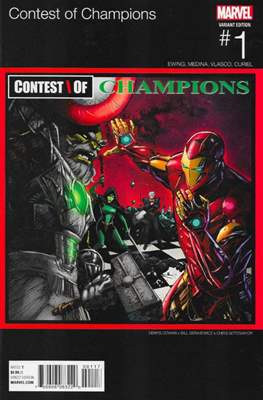 Contest of Champions (2015-2016 Variant Cover) #1.7