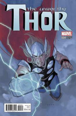 The Unworthy Thor (Variant Cover) (Comic Book) #4.1
