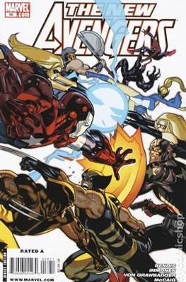 The New Avengers Vol. 1 (2005-2010) (Comic-Book) #56