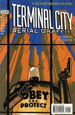 Terminal City Aerial Graffiti
