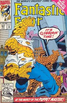 Fantastic Four Vol. 1 (1961-1996) (saddle-stitched) #367