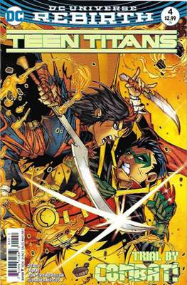 Teen Titans Vol. 6 (2016-2020) #4